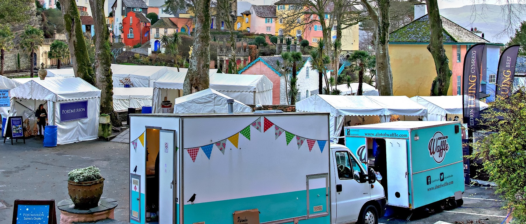 Christmas markets, fairs and festivities in north Wales